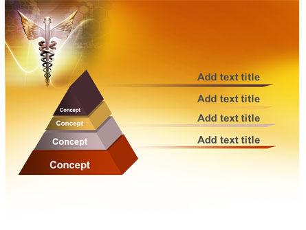 Caduceus PowerPoint Template, Slide 4, 06948, Medical — PoweredTemplate.com