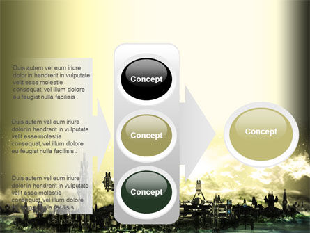 Futuristic View PowerPoint Template Slide 11