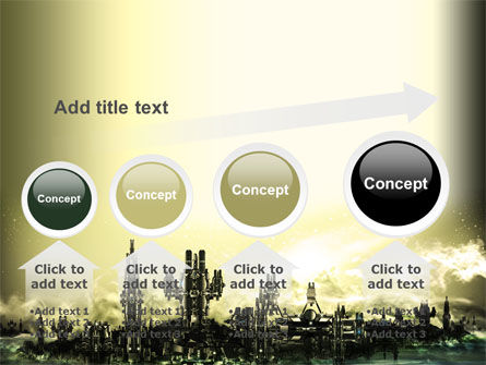Futuristic View PowerPoint Template Slide 13