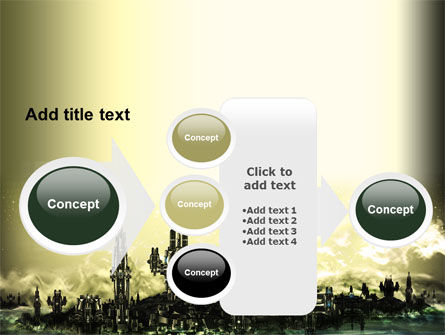 Futuristic View PowerPoint Template Slide 17