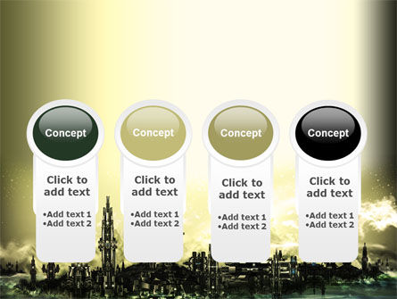 Futuristic View PowerPoint Template Slide 5