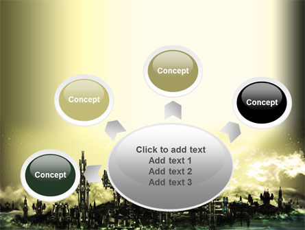 Futuristic View PowerPoint Template Slide 7