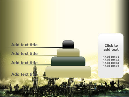 Futuristic View PowerPoint Template Slide 8