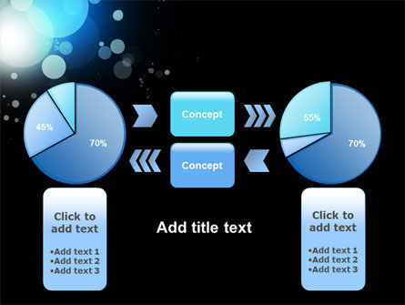 Blue Circles PowerPoint Template Slide 11