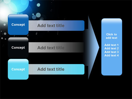 Blue Circles PowerPoint Template Slide 12