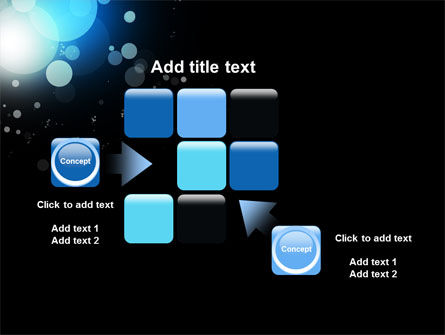 Blue Circles PowerPoint Template Slide 16