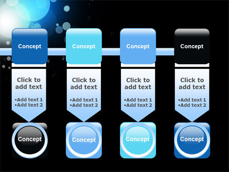 Blue Circles PowerPoint Template Slide 18