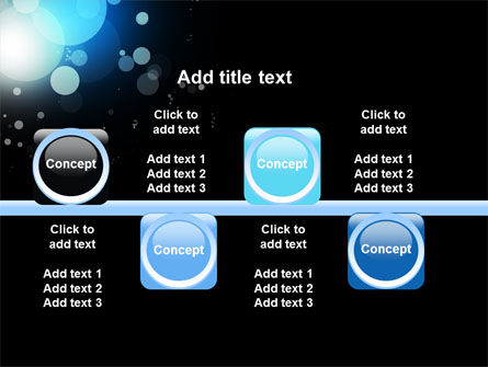 Blue Circles PowerPoint Template Slide 19