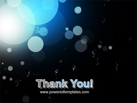 Blue Circles PowerPoint Template Slide 20