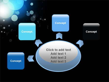 Blue Circles PowerPoint Template Slide 7
