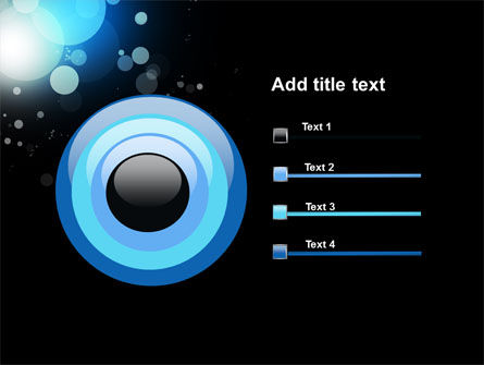 Blue Circles PowerPoint Template Slide 9
