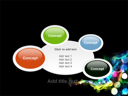 Color Circles PowerPoint Template Slide 16