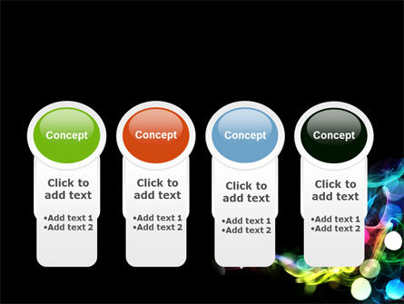 Color Circles PowerPoint Template Slide 5