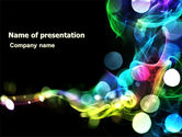Abstract/Textures: Color Circles PowerPoint Template #06957