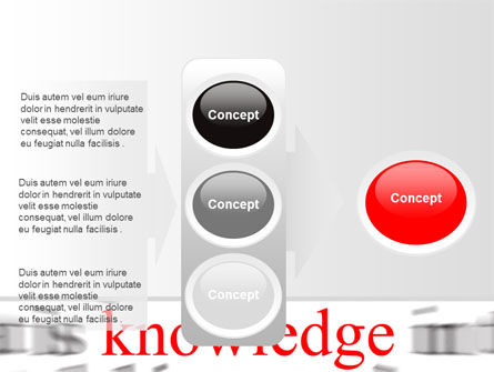 Focus on Knowledge PowerPoint Template Slide 11