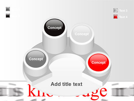 Focus on Knowledge PowerPoint Template Slide 12