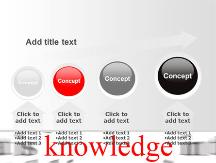 Focus on Knowledge PowerPoint Template Slide 13