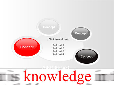 Focus on Knowledge PowerPoint Template Slide 16