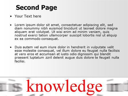 Focus on Knowledge PowerPoint Template Slide 2