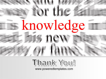Focus on Knowledge PowerPoint Template Slide 20