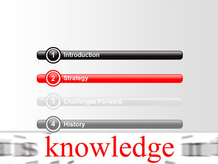 Focus on Knowledge PowerPoint Template Slide 3