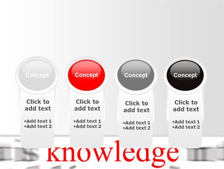 Focus on Knowledge PowerPoint Template Slide 5