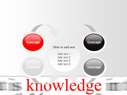 Focus on Knowledge PowerPoint Template Slide 6