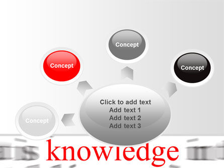 Focus on Knowledge PowerPoint Template Slide 7