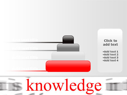 Focus on Knowledge PowerPoint Template Slide 8