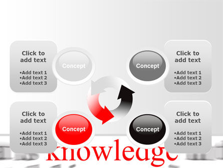 Focus on Knowledge PowerPoint Template Slide 9