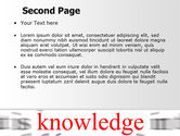 Focus on Knowledge PowerPoint Template#2