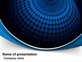 Abstract/Textures: Sphere PowerPoint Template #06965