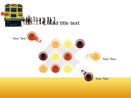 School Bus Stop PowerPoint Template Slide 10