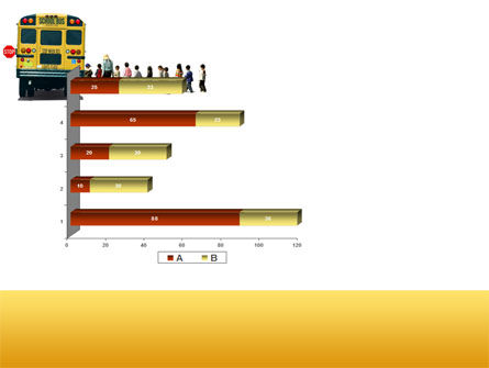 School Bus Stop PowerPoint Template Slide 11