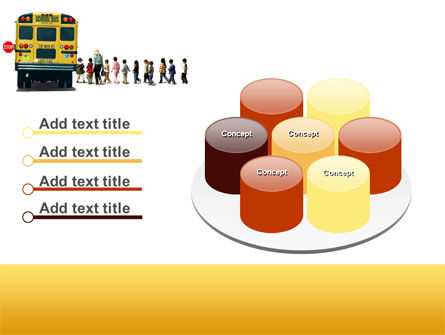 School Bus Stop PowerPoint Template Slide 12