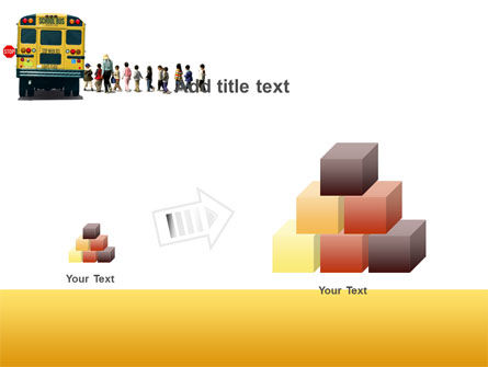 School Bus Stop PowerPoint Template Slide 13