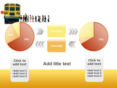 School Bus Stop PowerPoint Template Slide 16