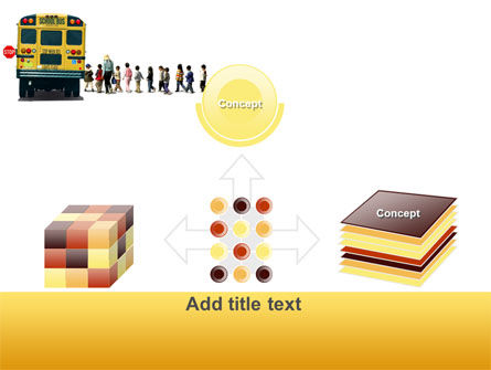 School Bus Stop PowerPoint Template Slide 19