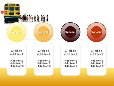 School Bus Stop PowerPoint Template Slide 5