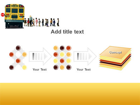 School Bus Stop PowerPoint Template Slide 9