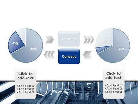 Escalator PowerPoint Template Slide 11