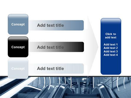 Escalator PowerPoint Template Slide 12