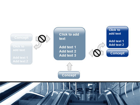 Escalator PowerPoint Template Slide 13