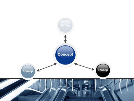 Escalator PowerPoint Template Slide 14