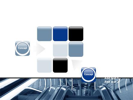 Escalator PowerPoint Template Slide 16