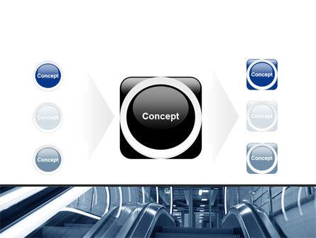 Escalator PowerPoint Template Slide 17
