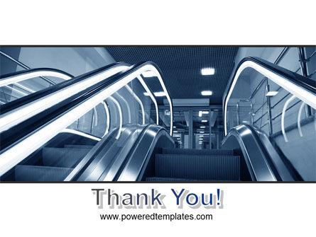 Escalator PowerPoint Template Slide 20
