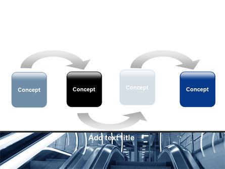 Escalator PowerPoint Template Slide 4