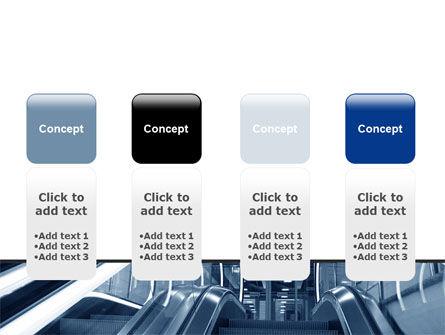 Escalator PowerPoint Template Slide 5