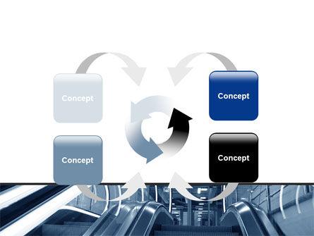 Escalator PowerPoint Template Slide 6